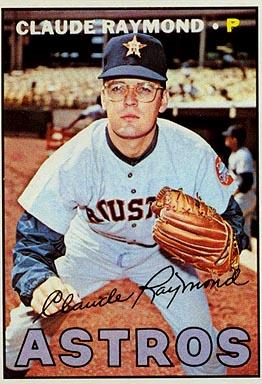 1967 topps claude raymond